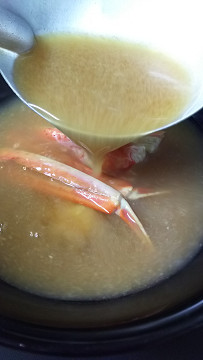 かに味噌汁